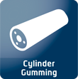 >Zylinder-Gummierung