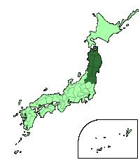 Región de Tohoku