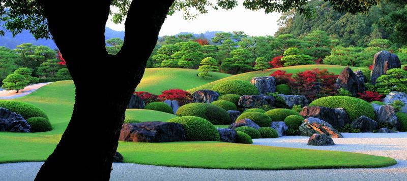 Jardines del Museo Adachi